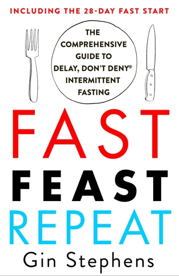 Fast. Feast. Repeat. The Comprehensive Guide to Delay, Don't Deny Intermittent Fasting — Including the 28-Day FAST Start